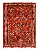 Antique Persian Sarouk Size 110 x 26