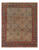 Antique Persian Afshar, Size 4'11'' X 6'2''