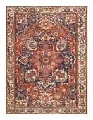 Antique Persian Serapi, Size 10' X 13'