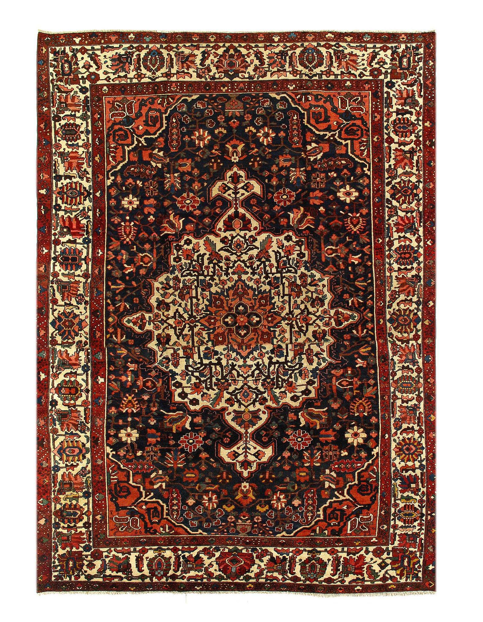 "Persian Semi-Antique Bakhtiari 10'11"" X 15'3"""