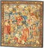 "France Tapestry 6'1""X 6'8"""