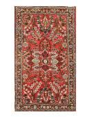 "Antique Persian Sarouk Lilian, Size 2'8"" X 4'9"""