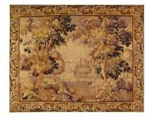 Antique 18th Century French Tapestry 7'4'' X 9'