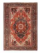"""Antique Persian Sarouk Farahan, 10'6"""" X 15'3"""""""