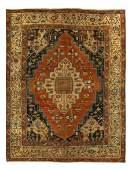 Persian Antique Serapi 11' x 13'11''
