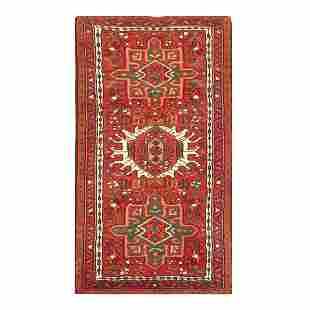 "Semi-Antique Persian Karajeh Rug - 2'1"" x 3'6"""