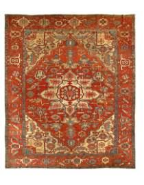 Persian Antique Serapi, Size 10' X 12'