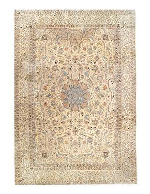 Fine Silk & wool Persian Nain 6 LA  10'3'' x 14'11''
