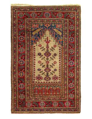 Ivory Turkish Kazak Rug 2'11'' x 4'5''