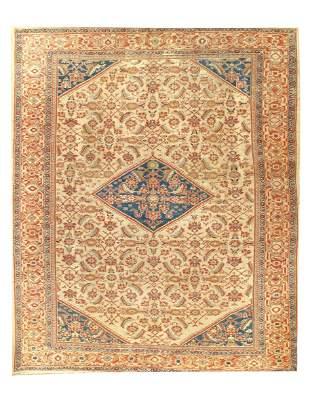 Ivory Fine Persian Antique Mahal 8'2'' x 10'