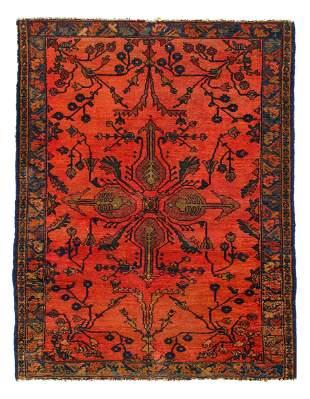 Fine Persian Antique Sarouk 3'6'' X 4'7''