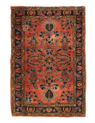 Fine Persian Antique Sarouk 2' X 3'