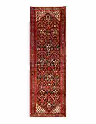 Persian Antique Malayer runner 3'8'' X 11'11''