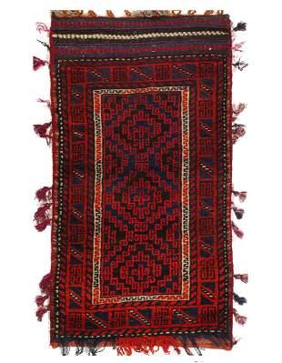 Vintage Persian Shiraz saddle bag 2' X 3'7''