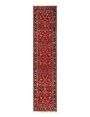 Red Fine Kashan Runner 2'8'' X 11'3''