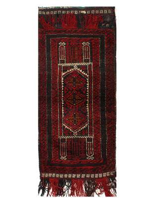 Vintage Persian Shiraz saddle bag 2'1'' X 4'1''