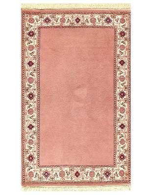 Pink Persian Tabriz design 3' X 5'