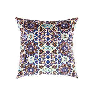 Persian Tile Velvet Pillow 16' X 16'