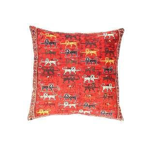 Persian Lion Velevt Pillow 16' X 16'