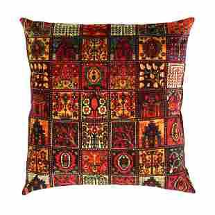 Persian Rug Bakhtiari design Pillow 20' X 20'