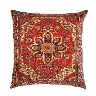 Persian Heriz Design Pillow 20' X 20'