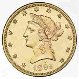 1899 $10 Gold Liberty