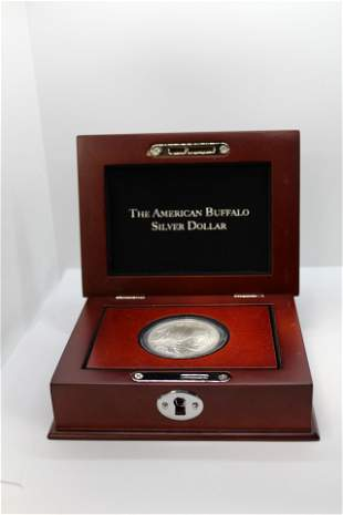 American Buffalo Silver Dollar