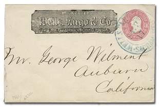 Wells Fargo & Co. Scaramento Cover (c. 1861)