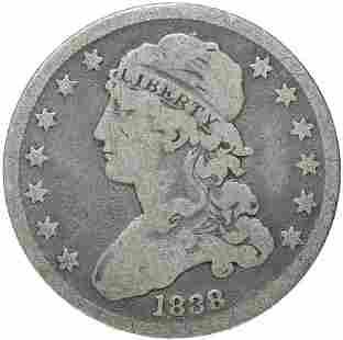 1838 Bust 25c
