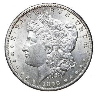 1890-S Morgan $1
