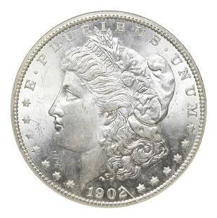 1902-O Morgan $1 NNC MS66