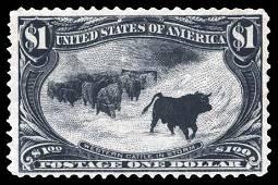 1898, $1 Trans-Miss. (Scott #292)