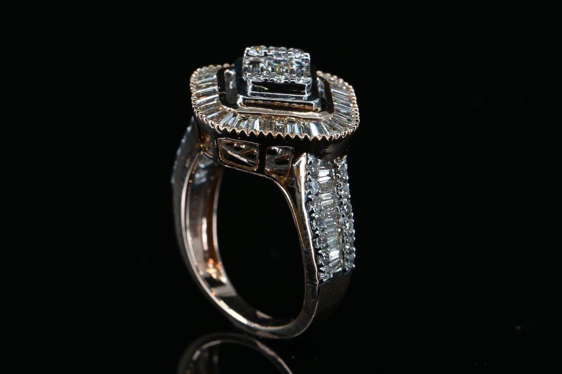 1.79 CTW Certified Diamond 14K Rose Gold Ring