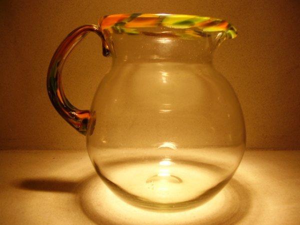 3: Murano glass: Pitcher by Angelo Rinaldi