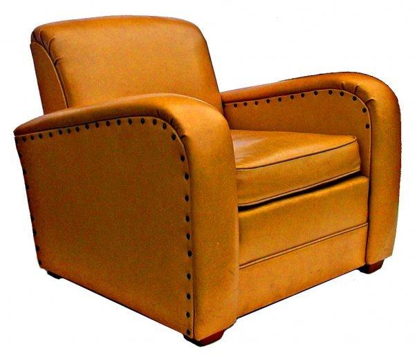 14: Art Deco Airstream club chair
