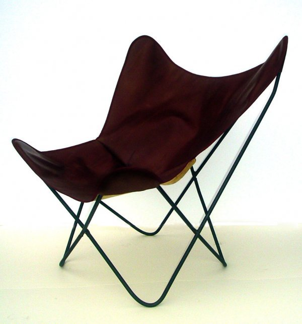 21: 1950's Butterfly chair for Knoll