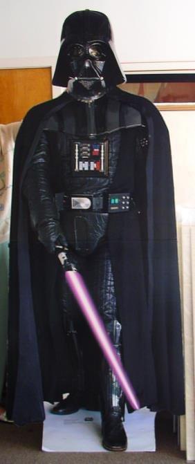 1: Movie Poster: Star Wars Darth Vader standee