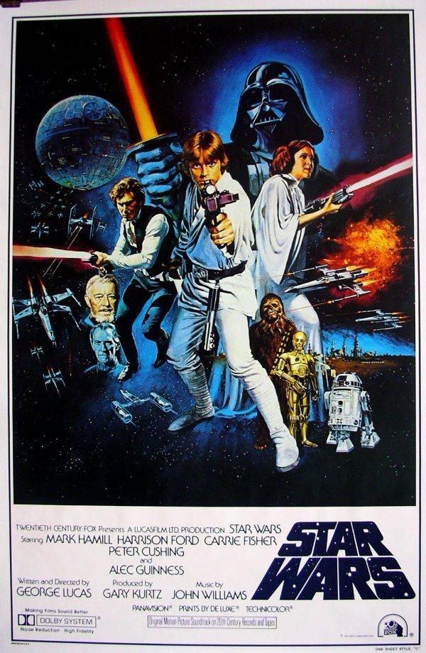 3: Movie Poster: Star Wars 1977