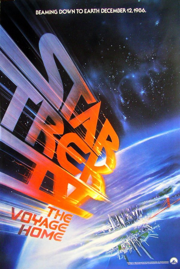 7: Movie Poster: Star Trek IV