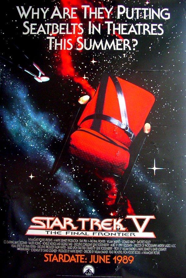 8: Movie Poster: Star Trek V