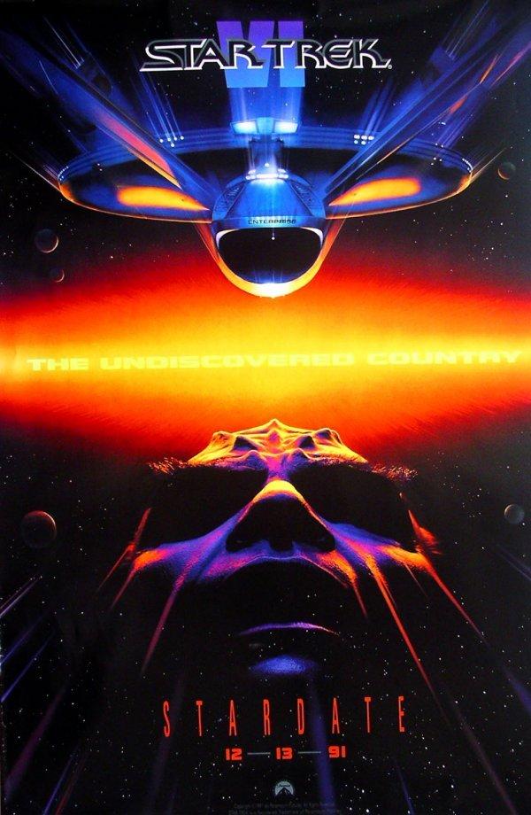 9: Movie Poster: Star Trek VI