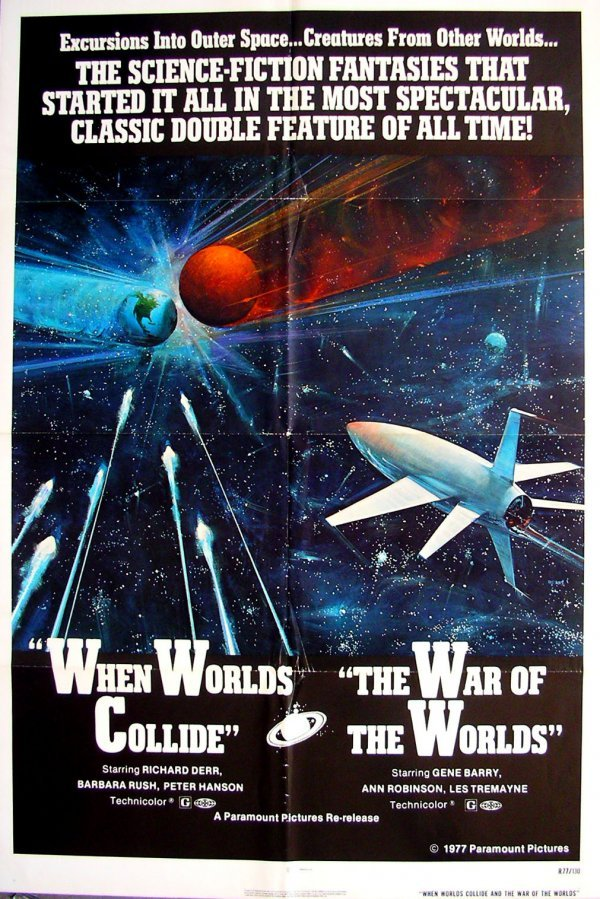 10: Movie Poster: War of the Worlds / Worlds Collide