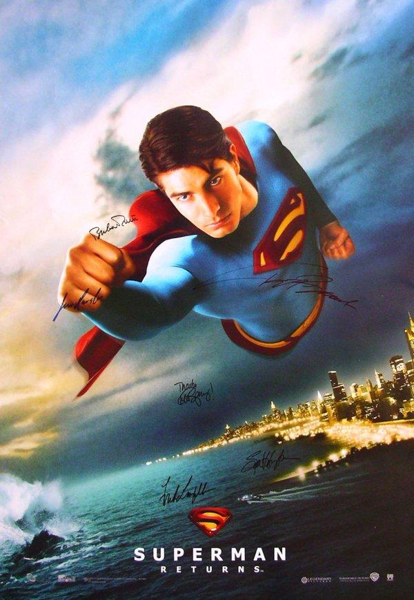13: Movie Poster: Superman Returns DC Comics