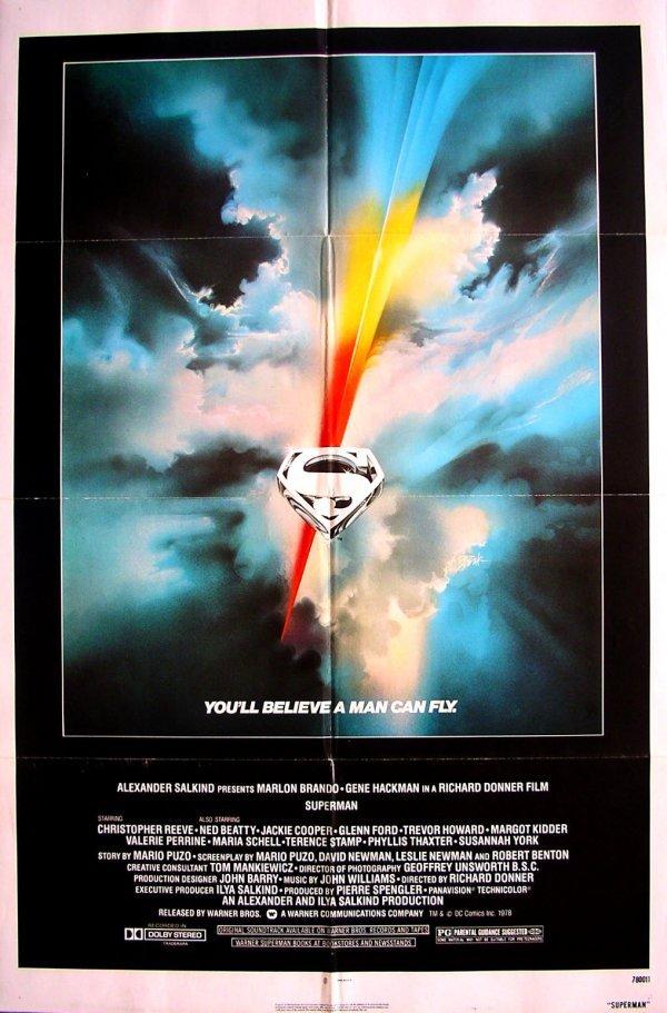 14: Movie Poster: Superman, 1978