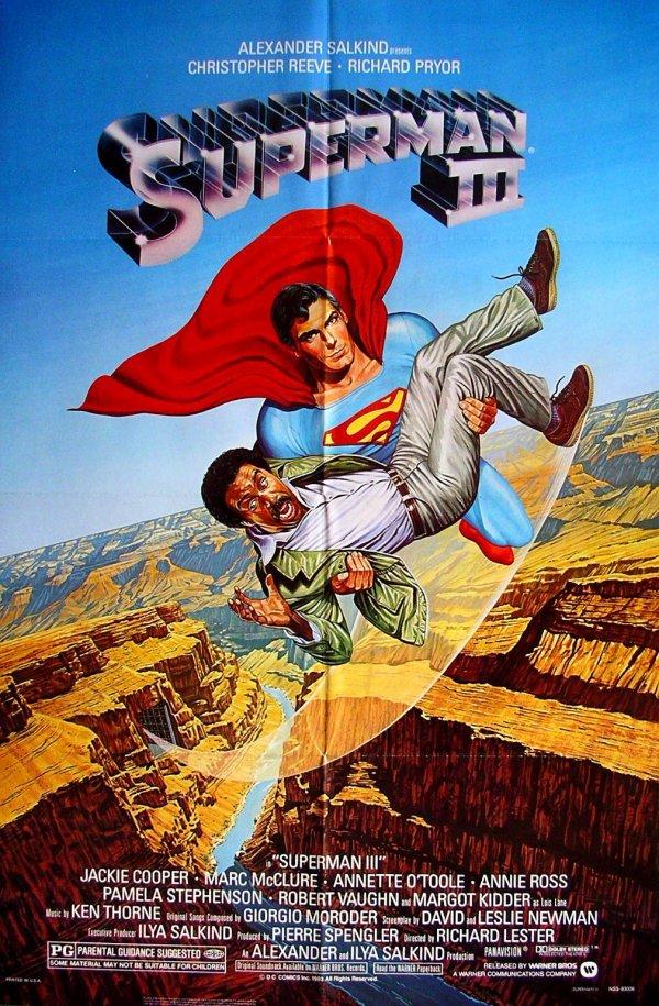 17: Movie Poster: Superman III, 1983