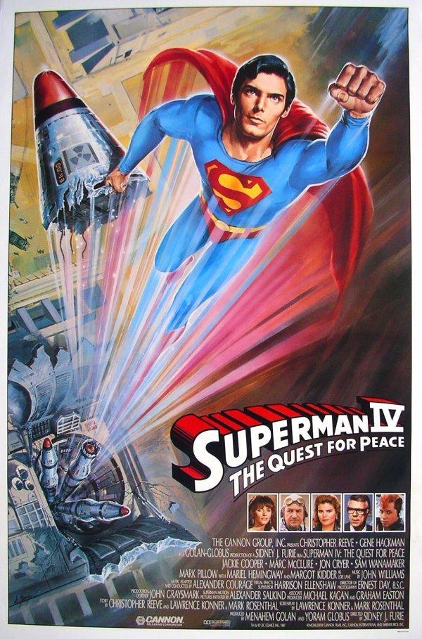 18: Movie Poster: Superman IV, 1987