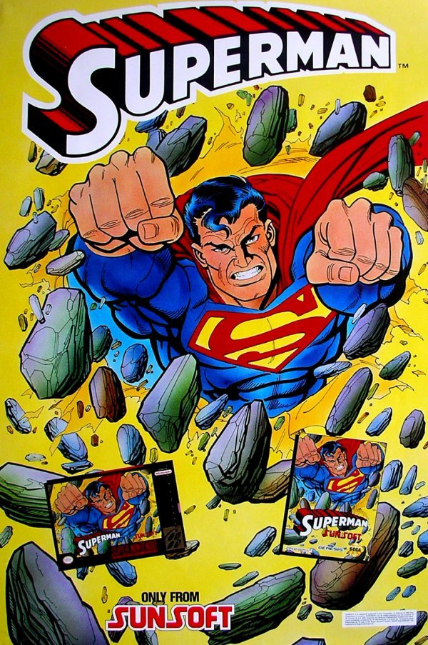 20: Movie Poster: Superman 1992