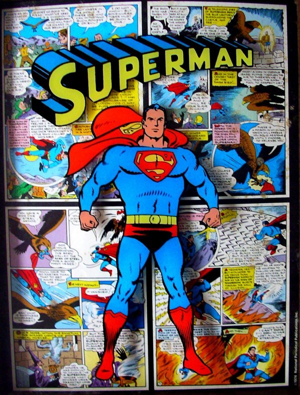 21: Movie Poster: Superman DC Comics 1974