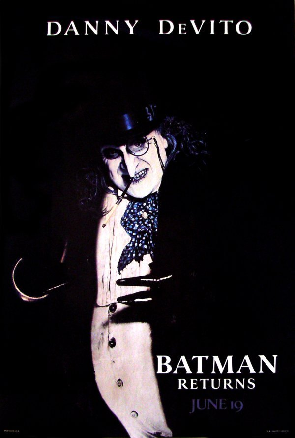 24: Movie Poster: Batman Returns advance 1992
