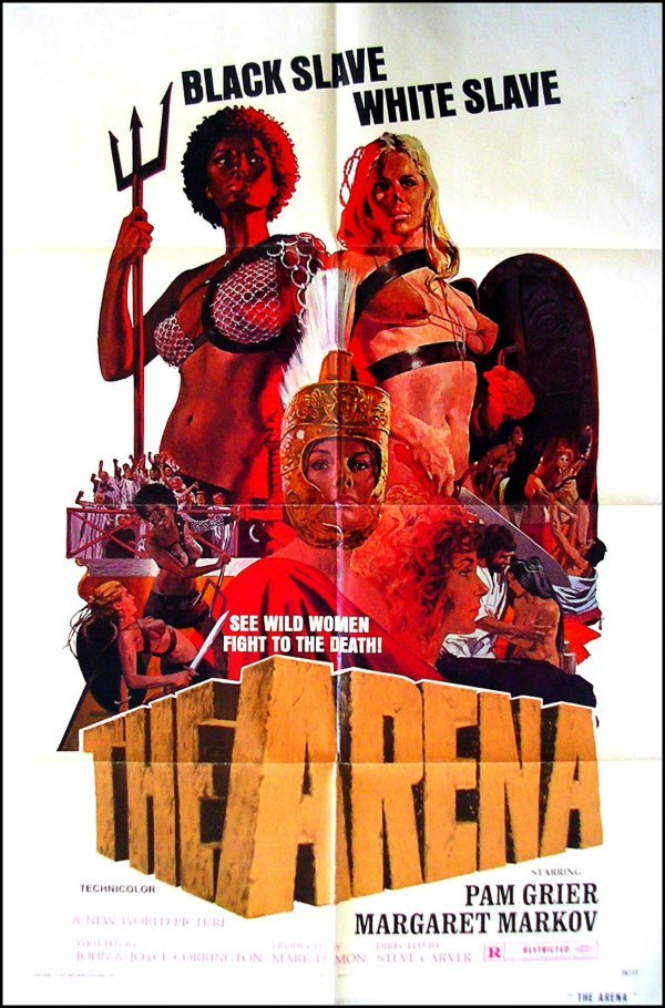 57: Movie Poster: The Arena, Pam Grier